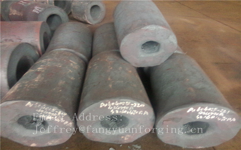 4130 4140 42CrMo4 4340 C45 4330 Forged  Hollow Shaft  / Axle Carbon Steel